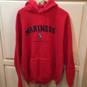 Majestic seattle mariners baseball hoodie xl